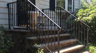 Outdoor Stair Railing Exterior Wrought Iron Railings Outdoor Wrought Iron