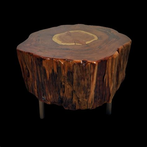Stump Coffee Table Wonderful Tree Stump Coffee Table