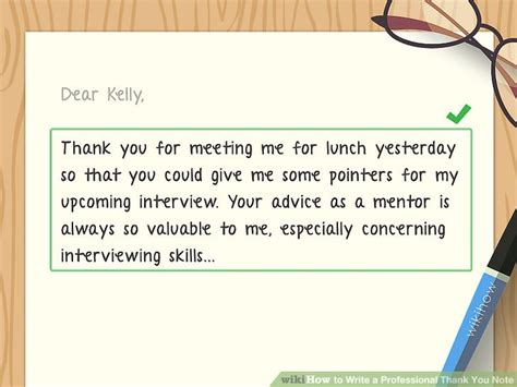 thank you letter to for help how to write a professional thank you note with sle notes