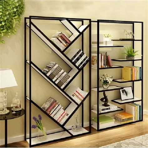 Design Ideas For Iron Bookcase Wrought Iron Wood Bookcase Shelf Wall Panels Living Room Storage Rack Department Store Jewelry
