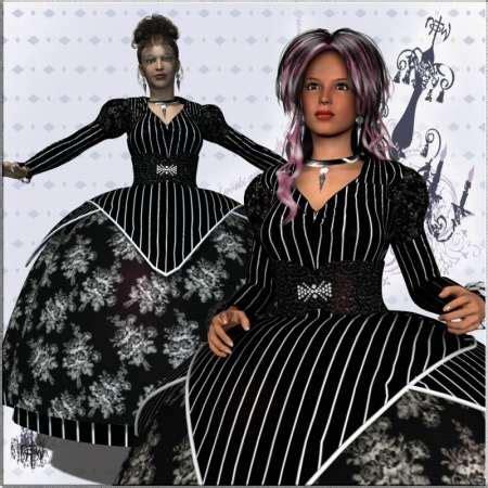 Arita Dres arita dress jewels for v4 187 topgfx daz3d renderosity