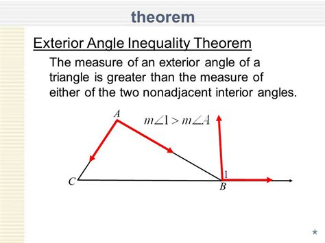 How To Find The Interior Angle Of A Hexagon by Unit 6 Lesson 6 Inequalities In One Triangle Ppt