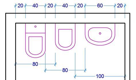 misure bagno minime le misure dell uomo nell abitazione il bagno web architetto