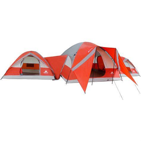 3 bedroom tent walmart ozark trail connectent 10 person 3 dome tent walmartcom 3