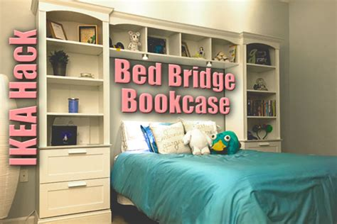 Bed Bridge Bookcase From Ikea Brimnes Billy Ikea