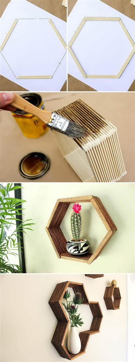 funky diy home decor 35 cool diy home decor ideas