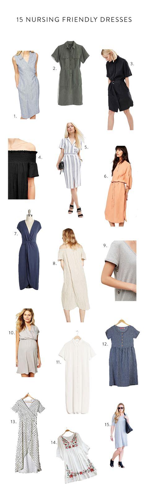 Friendly Summer Dresses - 15 nursing friendly summer dresses say yes