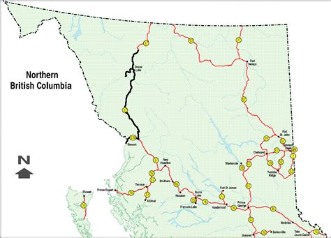 printable bc road map mawlers big adventure pictures