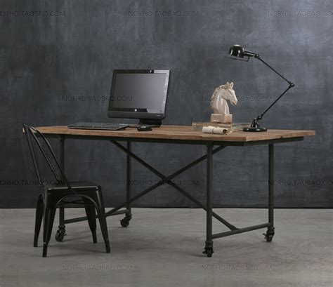 wrought iron computer desk loft style furniture wrought iron wood dining