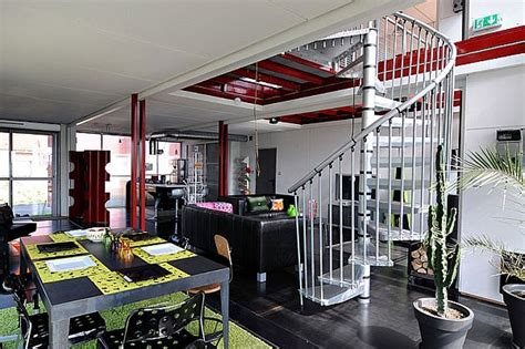 interior of shipping container homes a two story house made of eight shipping containers with a modern interior design