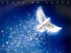 christmas dove peace on earth christmas wallpaper
