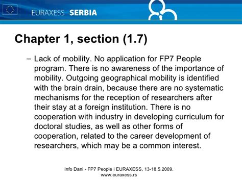 section 8 mobility program d01l09 m trajanovic mobilty of researchers in serbia