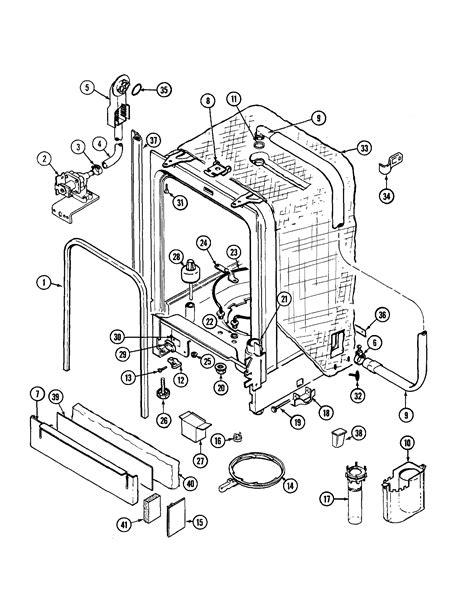 jenn air parts diagram dishwasher motor wiring diagram dishwasher get free