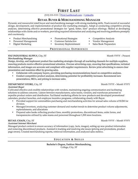 Retail Resume by Retail Resume Sle Professional Resume Exles