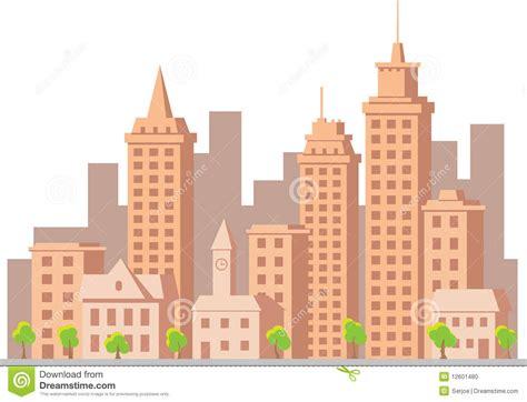 Townhouse Design Plans cartoon vector construction town stock photo image 12601480