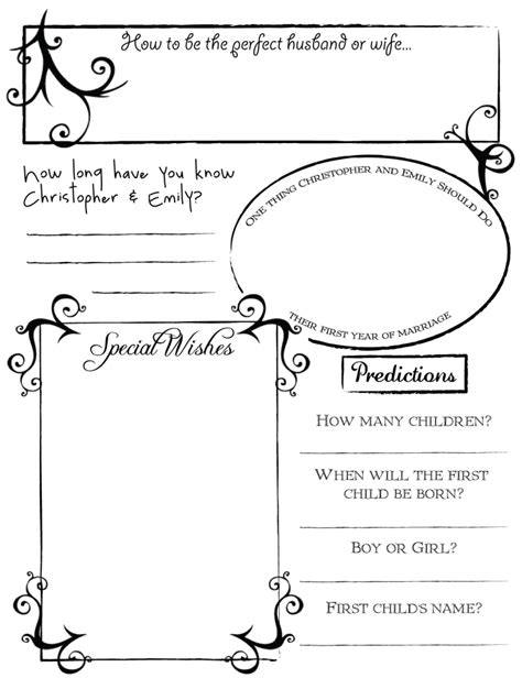 Printable Guest Book Pages Http I888 Photobucket Com Albums Ac87 Emilydeakins Guestbookpage2 Printable Guest Book Template