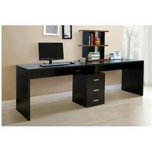 Long Desk Table long computer desk design magazine