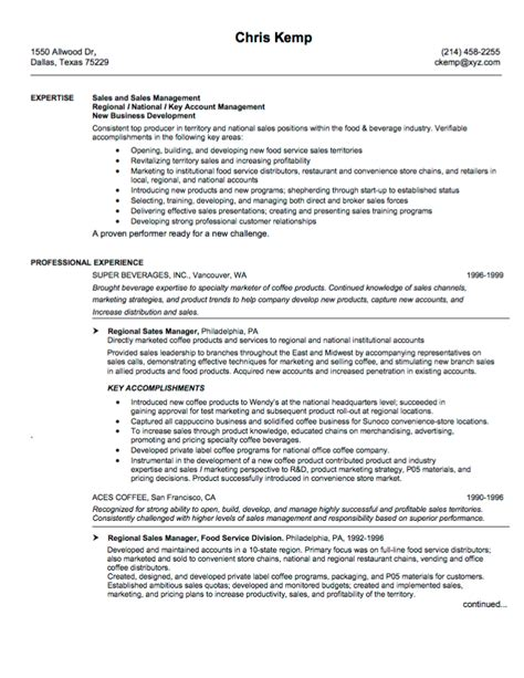 Day C Director Sle Resume by 10 Sales Resume Sles Hiring Managers Will Notice