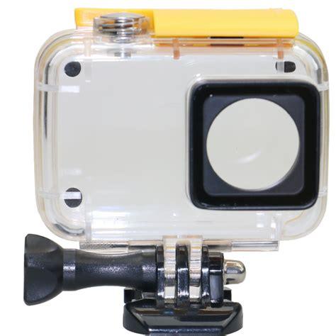 Waterproof Ipx 8 45m For Xiaomi Yi 4k underwater waterproof ipx 8 45m for xiaomi yi 2 4k yellow jakartanotebook