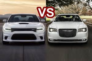 Dodge 300s 2016 Chrysler 300 Vs 2016 Dodge Charger Srt Design