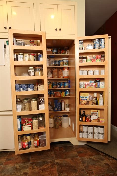 food pantry storage cabinets country kitchen ideas with shelves over food pantry door