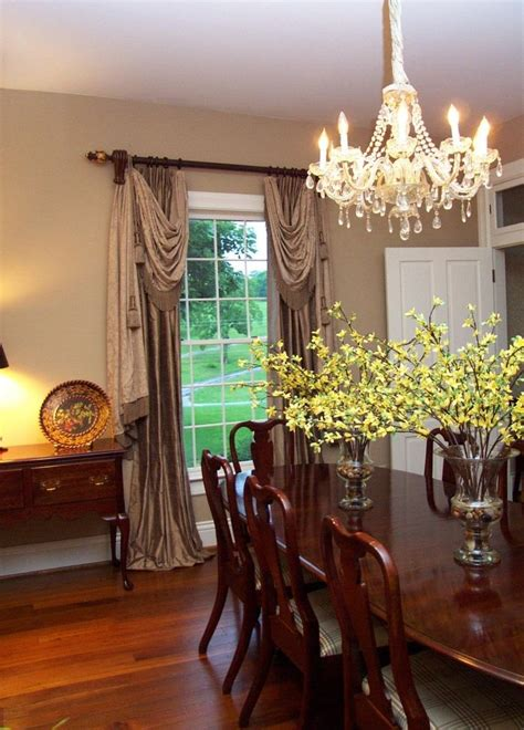 Window Treatment For Dining Room Dining Room Window Treatment Dining Room Pinterest