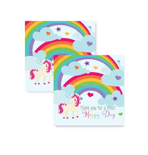 free printable unicorn tags unicorn party favor tag girls birthday stickers