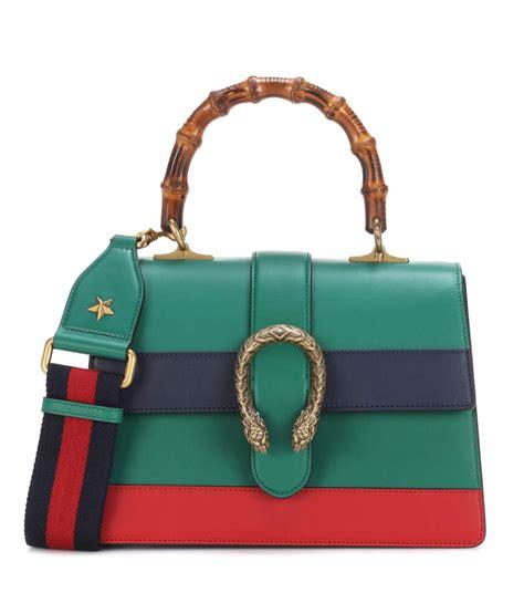 Gucci Dionsyus Bamboo Mini Bags 6345 gucci dionysus bamboo medium leather shoulder bag in emerald modesens