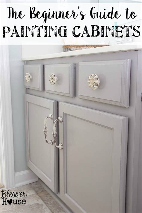 bathroom cabinet painting ideas the beginner s guide to painting cabinets