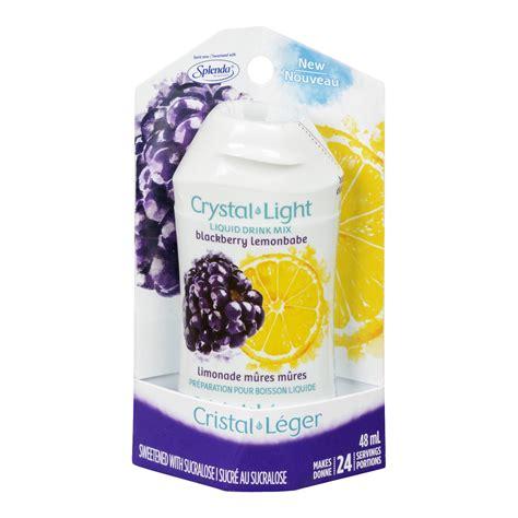 crystal light drink mix crystal light drink mix liquid lemonbabe blackberry
