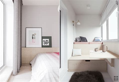 bedroom reading area a scandinavian style apartment perfect for a small family