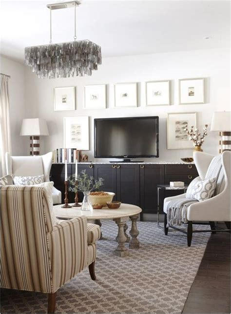 Decorating With Pictures by 9 Ways To Design Around A Tv Centsational