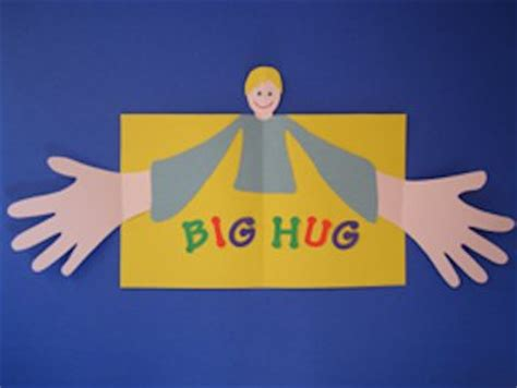 hug hug card template 20 s day cards for to make about family crafts