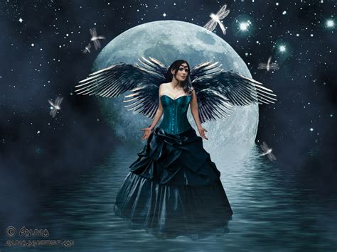 bing images beautiful moon magical fairies on pinterest fairies faeries and disney