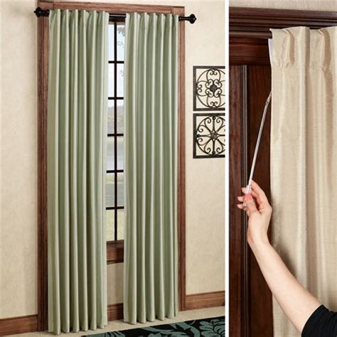what are back tab curtains fontaine back tab room darkening curtains