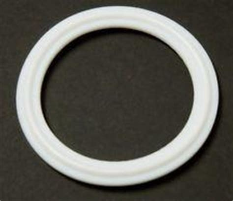 Gasket Seal Ferrule Teflon 2 1 2 Inch clear pvc tubing for food processing hose and
