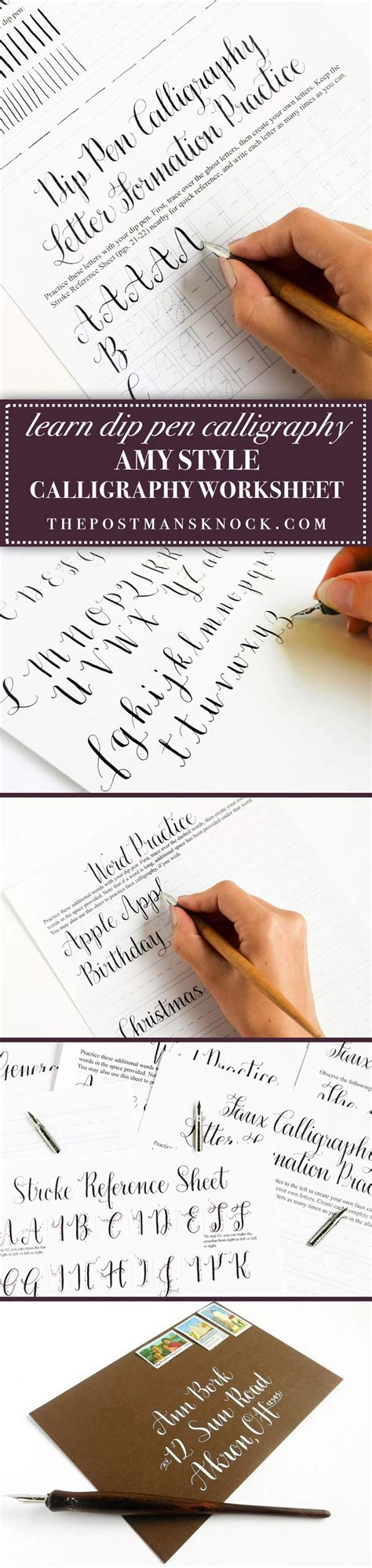 calligraphy handlettering for beginners beginner practice workbook for lettering and modern calligraphy with more than 40 different lettering fonts books best 25 dip pen ideas on modern calligraphy
