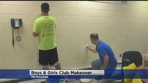 sherwin williams paint store milwaukee wi sherwin williams employees painted boys and club of