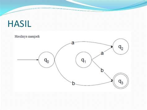 Teori Bahasa Otomata teori bahasa otomata pertemuan 5