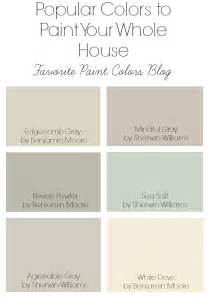 most popular colors color combinations favorite paint colors blog