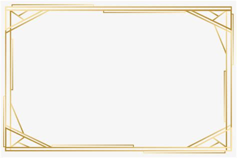 vector gold frame png image hd vector material png and
