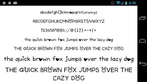 pretty fonts for android fonts for flipfont 50 written android apps on play
