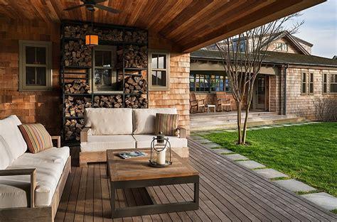 the artful woodpile 30 fabulous firewood storage ideas
