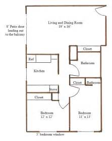 Two Bedroom Two Bath Floor Plans by 20x40 One Bedroom House Plans Joy Studio Design Gallery