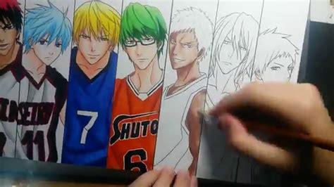 Kumpulan Brosur Kuroku Basket cara menggambar anime kuroko versi on the spot