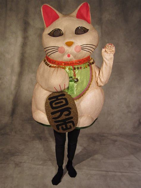 Costume Neko Cat maneki neko costume for bernina 2011 sewing
