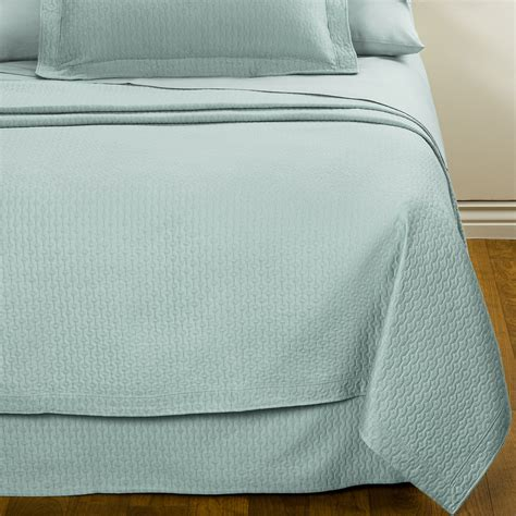cotton coverlet downtown paula matelasse coverlet queen mercerized