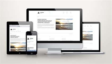 responsive design zehn kostenlose webdesign templates t3n