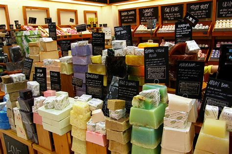 Lush Handmade Soap - luxury spa brand helps hamas with every soap and lotion