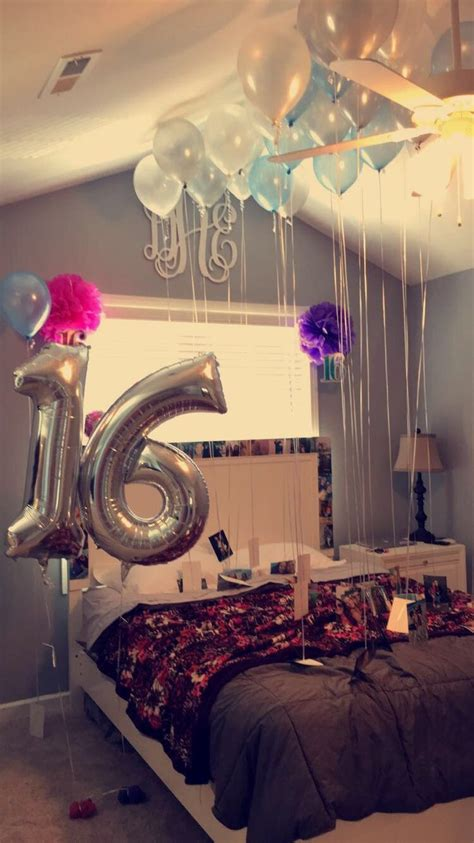16th birthday surprise idea pinteres